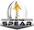 Tip Of The Spear Football Logo